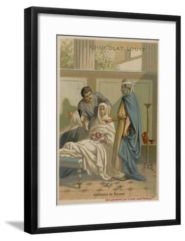 Apollonius of Tyana--Framed Art Print