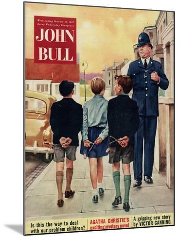 Front Cover of 'John Bull', October 1957--Mounted Giclee Print