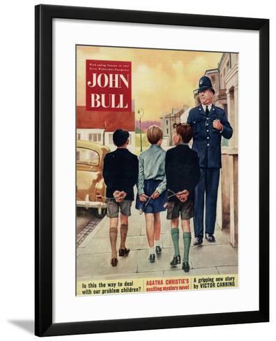 Front Cover of 'John Bull', October 1957--Framed Art Print