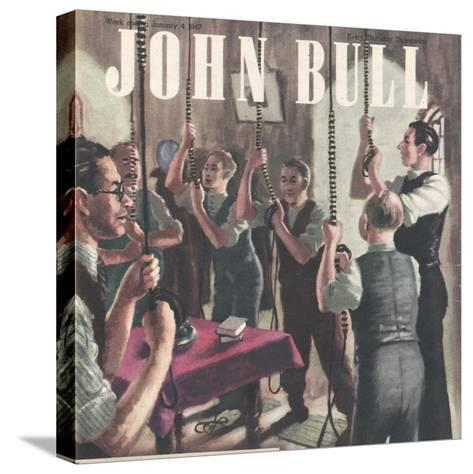 Front Cover of 'John Bull', January 1947--Stretched Canvas Print