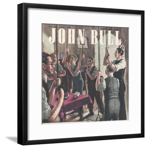 Front Cover of 'John Bull', January 1947--Framed Art Print