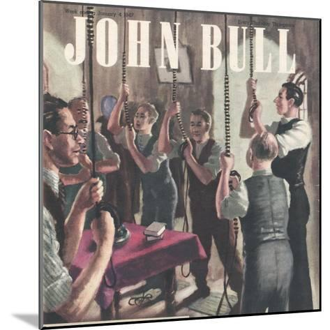Front Cover of 'John Bull', January 1947--Mounted Giclee Print