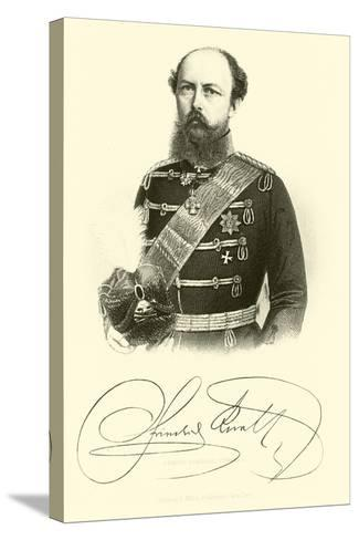Prince Frederick Charles--Stretched Canvas Print