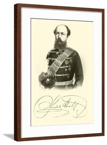 Prince Frederick Charles--Framed Art Print
