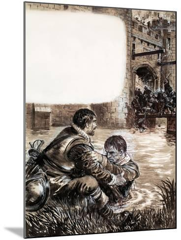 Only Two Survived the Massacre at New Brandenburg-Kenneth John Petts-Mounted Giclee Print