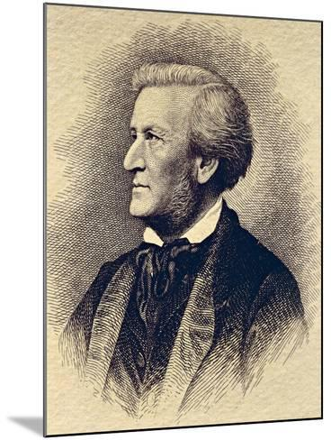 Portrait of Richard Wagner--Mounted Giclee Print