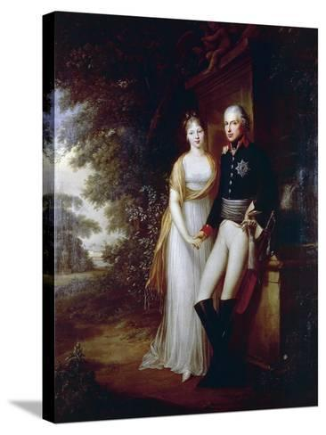 Frederick William III of Prussia--Stretched Canvas Print