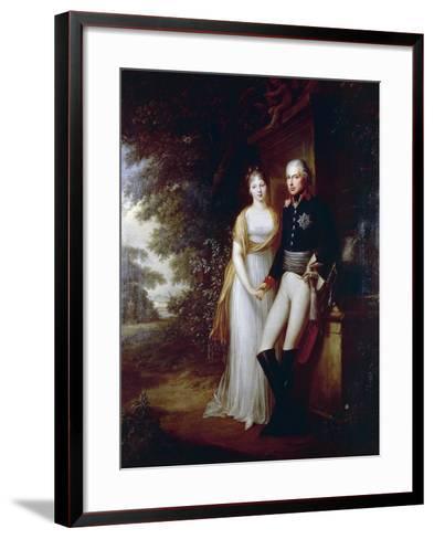 Frederick William III of Prussia--Framed Art Print