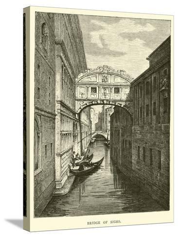 Bridge of Sighs--Stretched Canvas Print
