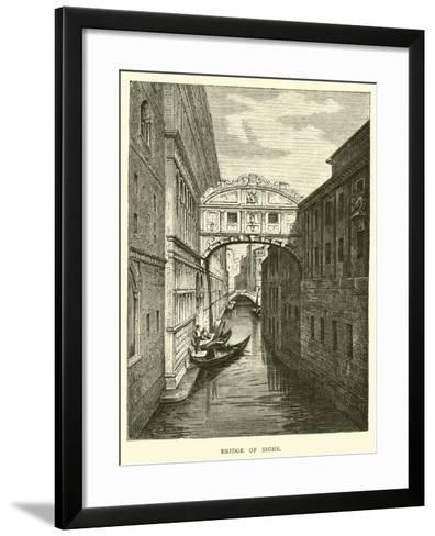 Bridge of Sighs--Framed Art Print