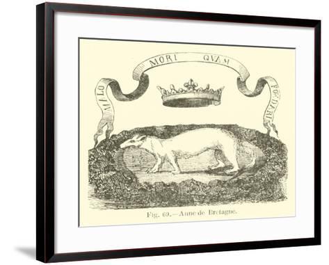 Anne De Bretagne--Framed Art Print
