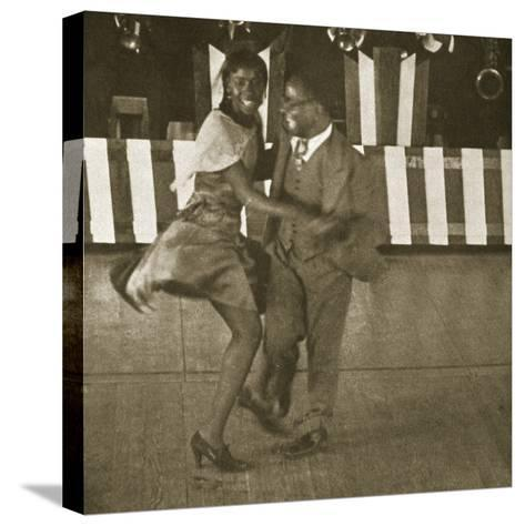 Dancing Contest, Harlem, New York, 1930--Stretched Canvas Print