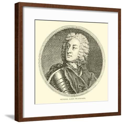 General James Oglethorpe--Framed Art Print