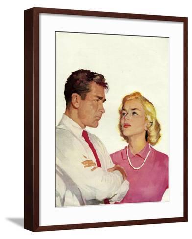 Magazine Illustration, 1950s--Framed Art Print