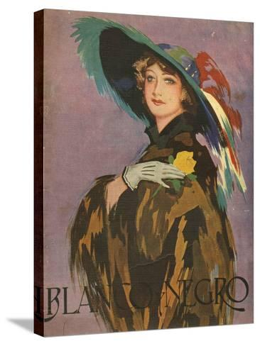 Front Cover of 'Blanco Y Negro', 1932--Stretched Canvas Print