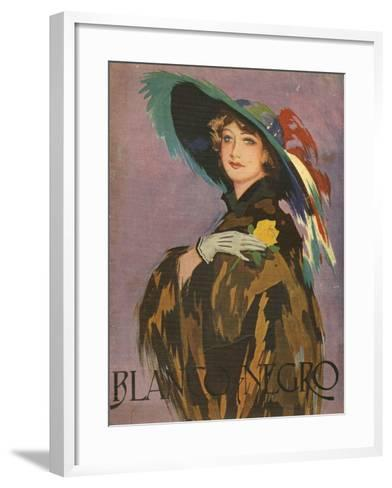 Front Cover of 'Blanco Y Negro', 1932--Framed Art Print