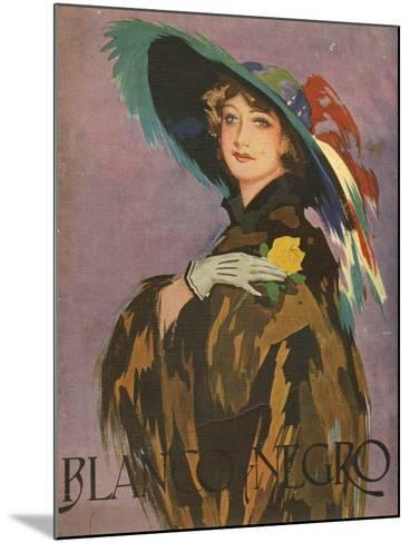 Front Cover of 'Blanco Y Negro', 1932--Mounted Giclee Print