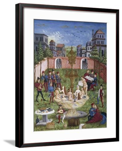 The Sons of Venus,Miniature, Cristoforo De Predis--Framed Art Print