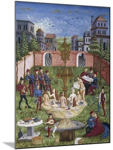 The Sons of Venus,Miniature, Cristoforo De Predis--Mounted Giclee Print