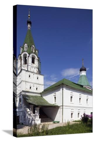 Buildings of Kremlin, Bell Tower--Stretched Canvas Print
