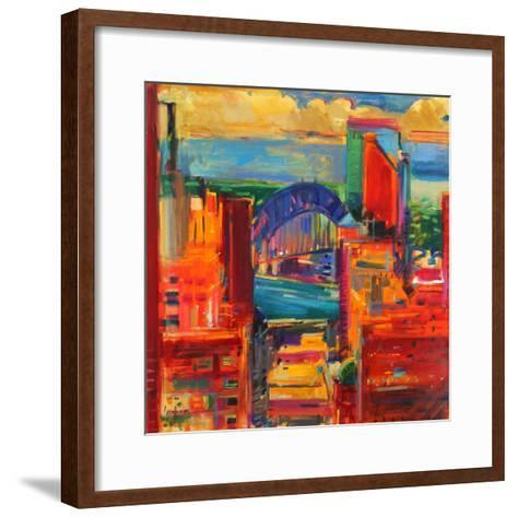 Sydney Harbour Bridge, 2012-Peter Graham-Framed Art Print