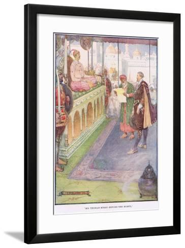 Sir Thomas Stood before the Mogul-Joseph Ratcliffe Skelton-Framed Art Print