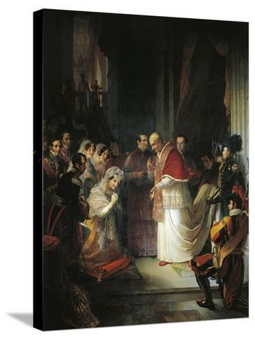 Pope Gergorio XVI--Stretched Canvas Print