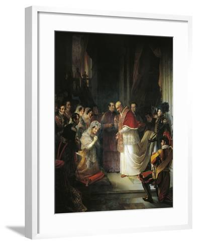 Pope Gergorio XVI--Framed Art Print