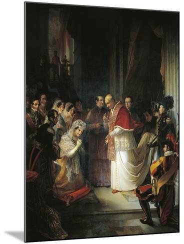Pope Gergorio XVI--Mounted Giclee Print