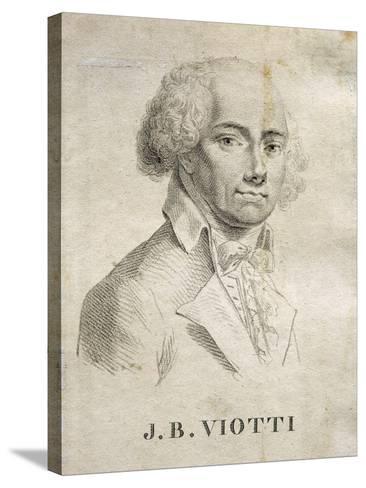 Portrait of Giovanni Battista Viotti--Stretched Canvas Print