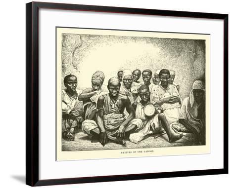 Natives of the Gaboon--Framed Art Print