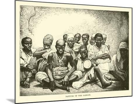 Natives of the Gaboon--Mounted Giclee Print