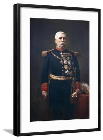 Portrait of Jose De La Cruz Porfirio Diaz Mory--Framed Art Print