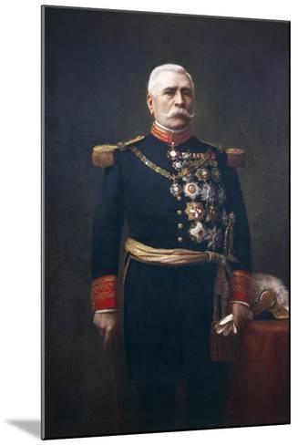 Portrait of Jose De La Cruz Porfirio Diaz Mory--Mounted Giclee Print