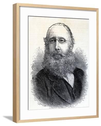 William Bromley-Davenport--Framed Art Print