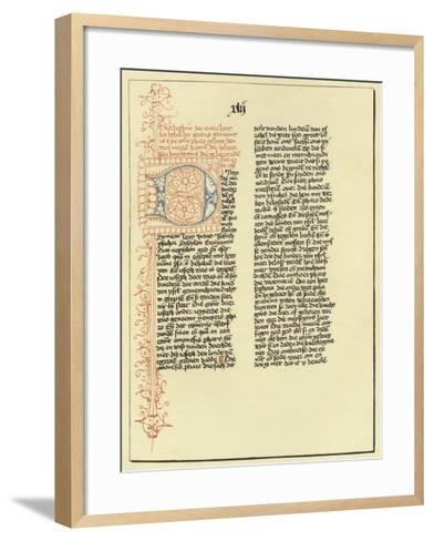 Page of the Book of Exodus--Framed Art Print