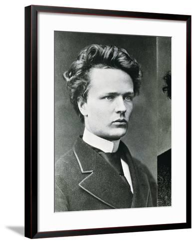 August Strindberg--Framed Art Print