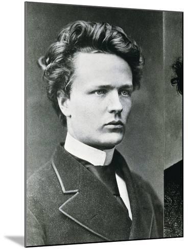 August Strindberg--Mounted Photographic Print