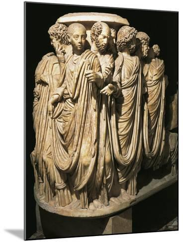 Relief from Sarcophagus from Acilia--Mounted Giclee Print
