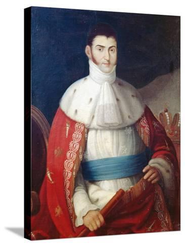 Augustin De Iturbide--Stretched Canvas Print