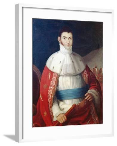 Augustin De Iturbide--Framed Art Print