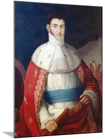 Augustin De Iturbide--Mounted Giclee Print
