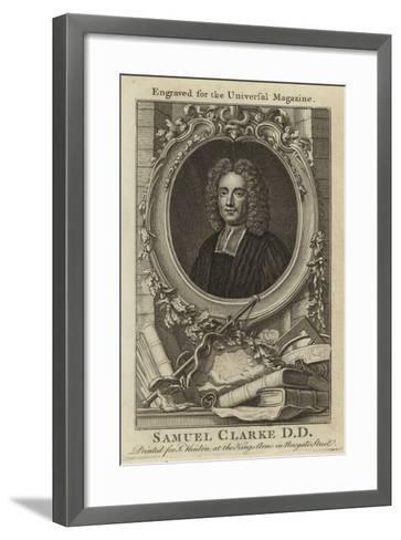 Samuel Clarke D D--Framed Art Print