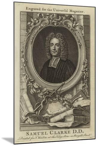 Samuel Clarke D D--Mounted Giclee Print