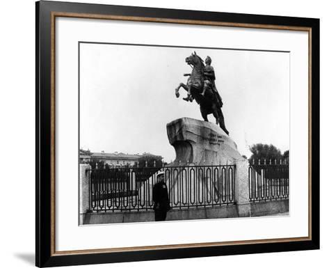 The Bronze Horseman, C.1900--Framed Art Print