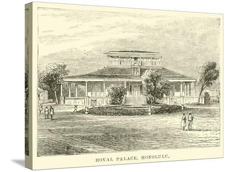 Royal Palace, Honolulu--Stretched Canvas Print