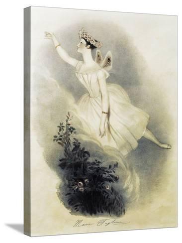 Dancer Marie Taglioni--Stretched Canvas Print