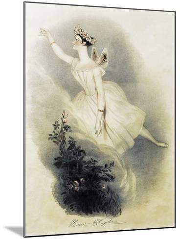 Dancer Marie Taglioni--Mounted Giclee Print