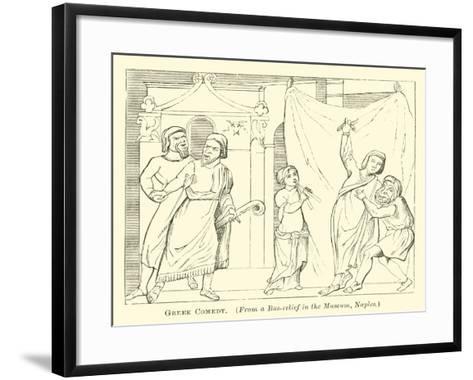 Greek Comedy--Framed Art Print