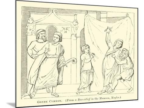 Greek Comedy--Mounted Giclee Print